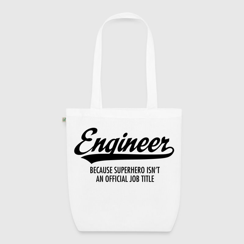 Engineer - Superhero Bags & Backpacks - EarthPositive Tote Bag