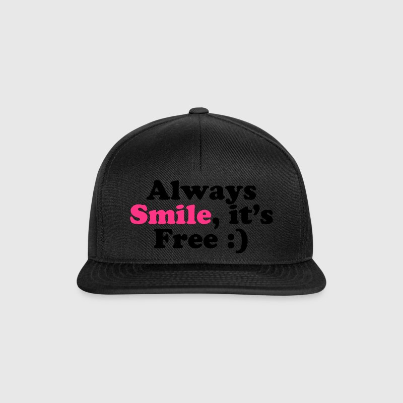 Always Smile - Casquette snapback