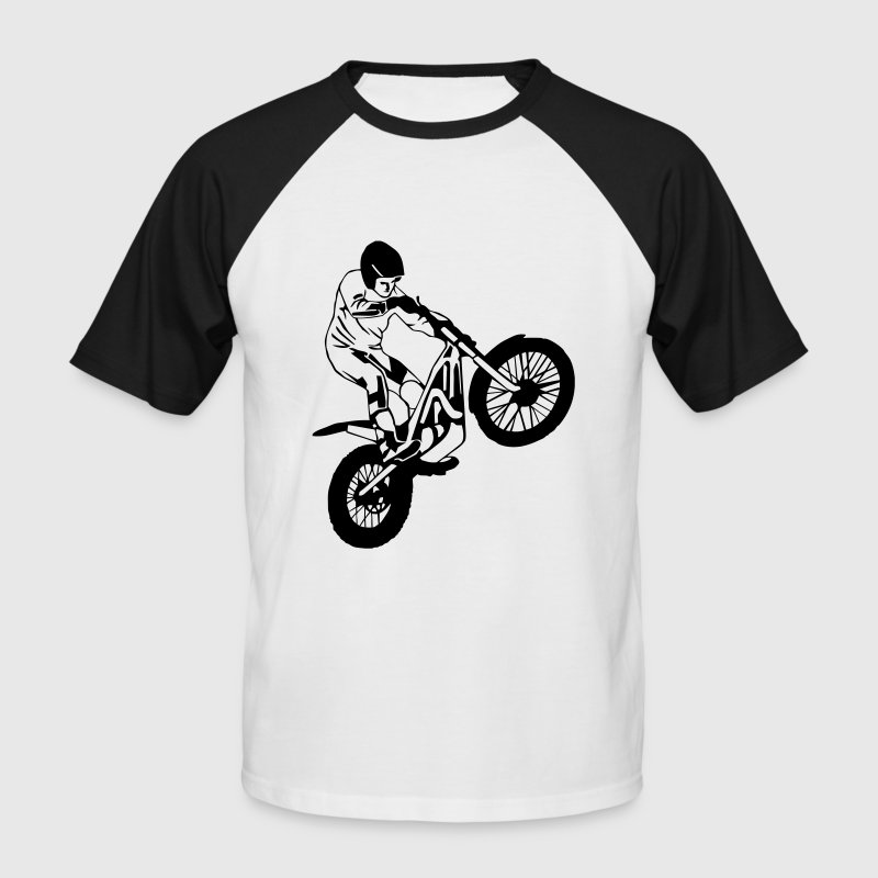 Trial Tee shirts - T-shirt baseball manches courtes Homme