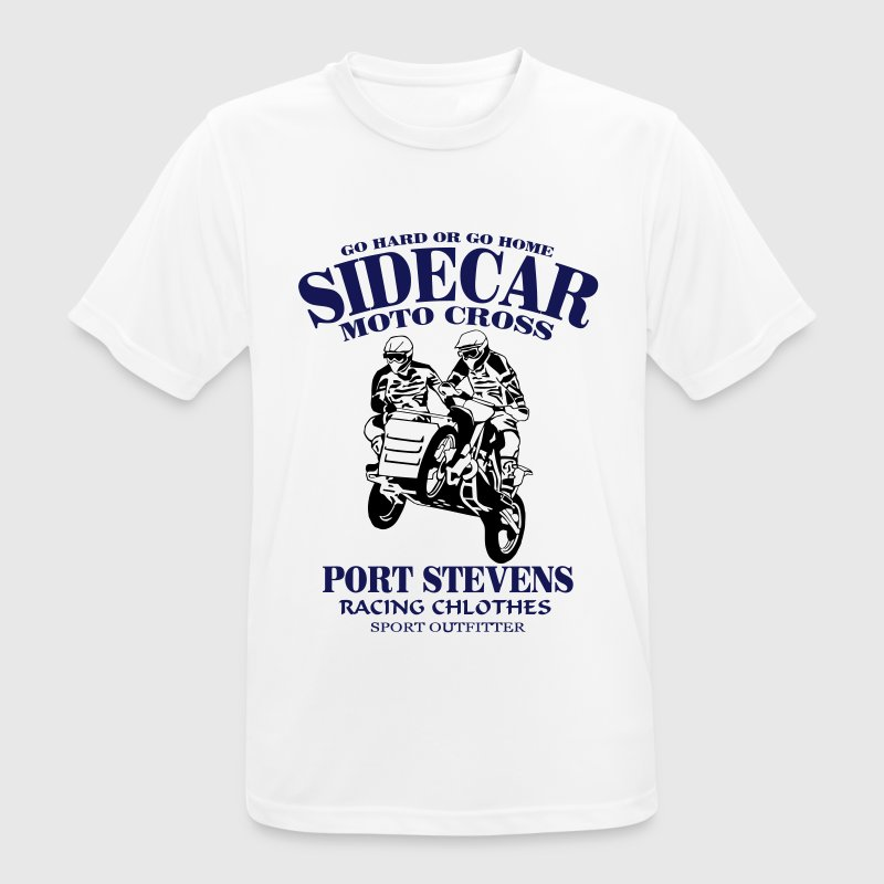Sidecar Moto Cross Tee shirts - T-shirt respirant Homme