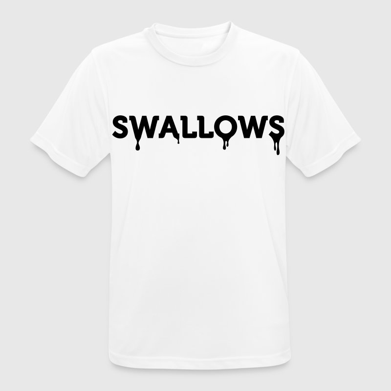 I swallow ... T-Shirts - Men's Breathable T-Shirt