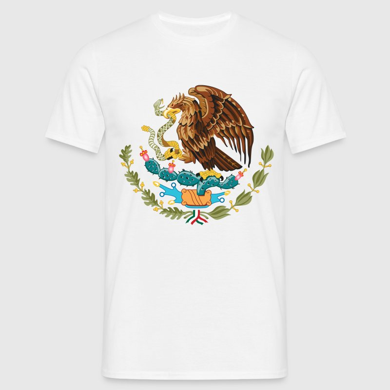 mexico_coat_of_arms Tee shirts - T-shirt Homme