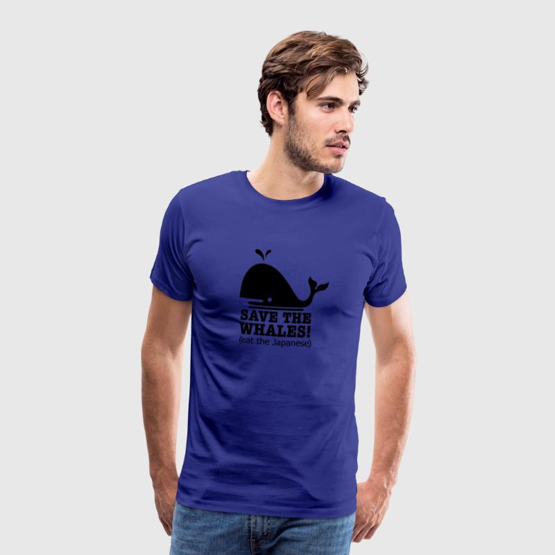 save the whales T-shirts - Premium-T-shirt herr