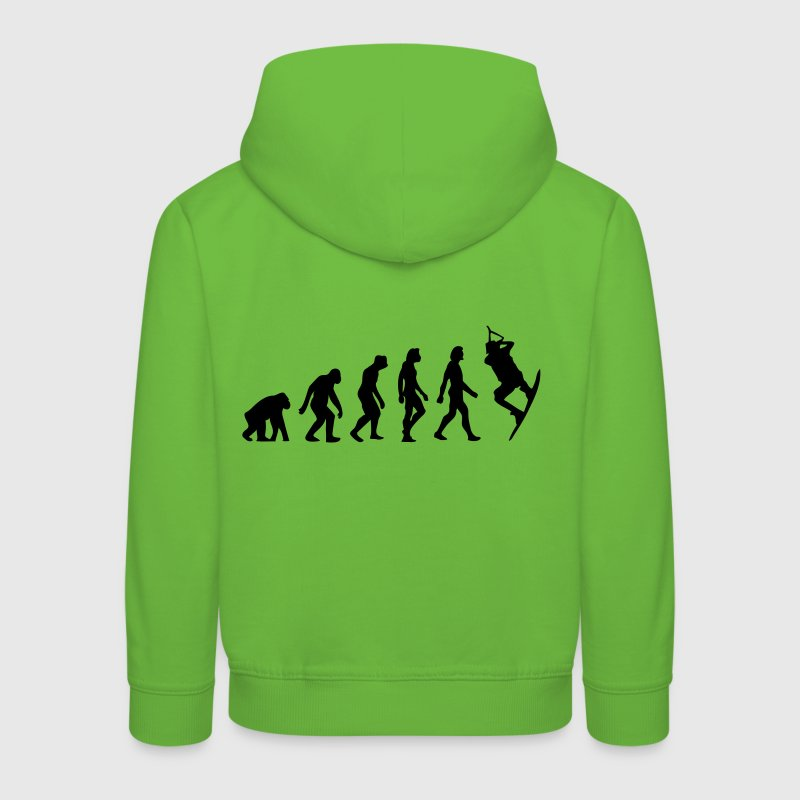 The Evolution of Kitesurfing Hoodies - Kids' Premium Hoodie