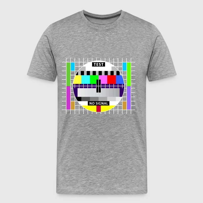 Testbild Display screen test card signal Big Bang T-Shirts - Männer Premium T-Shirt