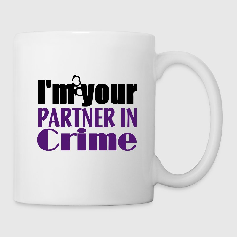 Partner In Crime Mugs & Drinkware - Mug