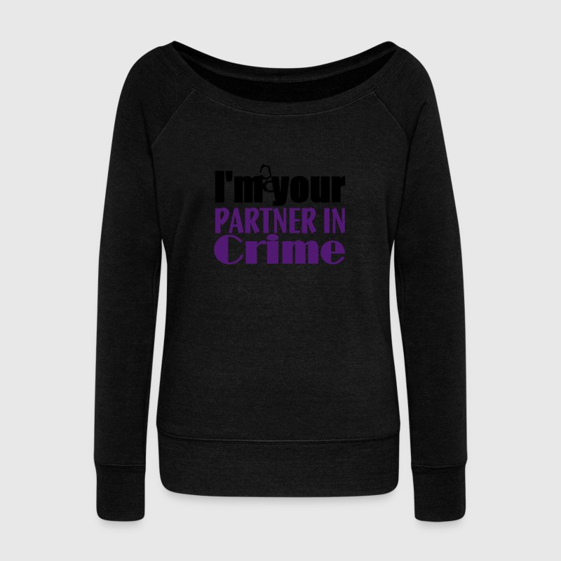 Partner In Crime Hoodies & Sweatshirts - Women's Boat Neck Long Sleeve Top
