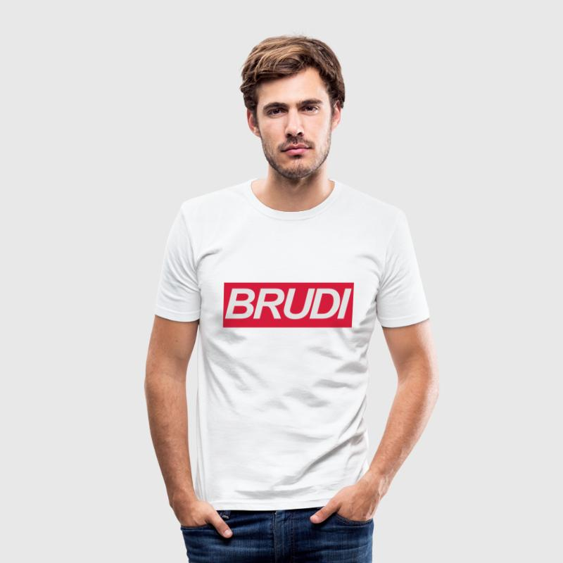 BRUDI Bruder T-Shirts - Männer Slim Fit T-Shirt