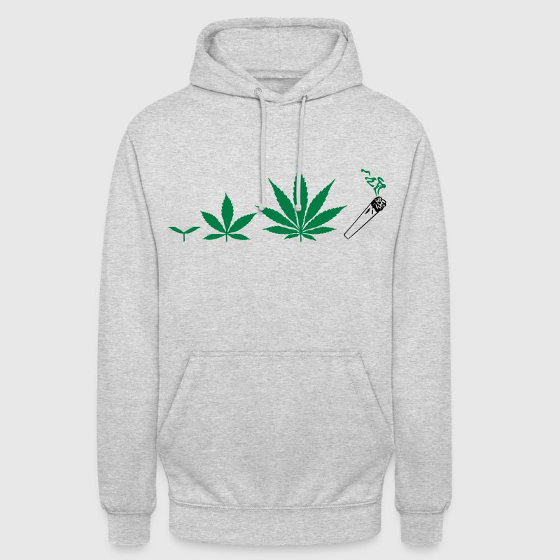 Cannabis development Sweat-shirts - Sweat-shirt à capuche unisexe