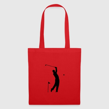 Golf - Hole in One atleta scena Tazze & Accessori - Borsa di stoffa