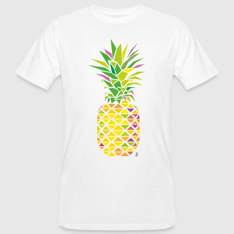 AD Pineapple T-shirts - Mannen Bio-T-shirt