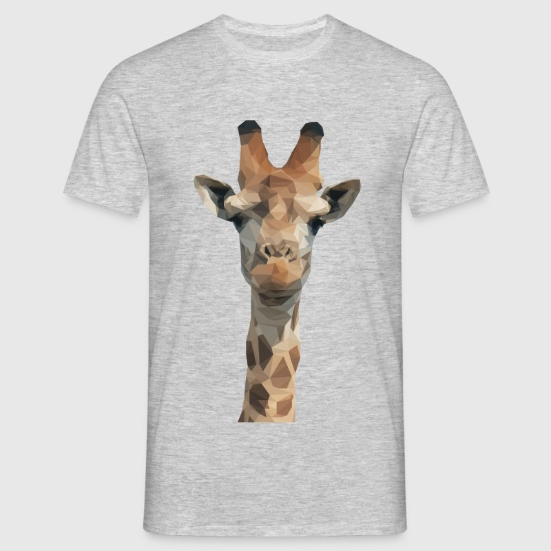 Low Poly Giraffe T-Shirts - Men's T-Shirt