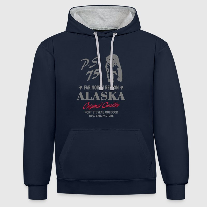 Alaska - Polar Bear Sweat-shirts - Sweat-shirt contraste