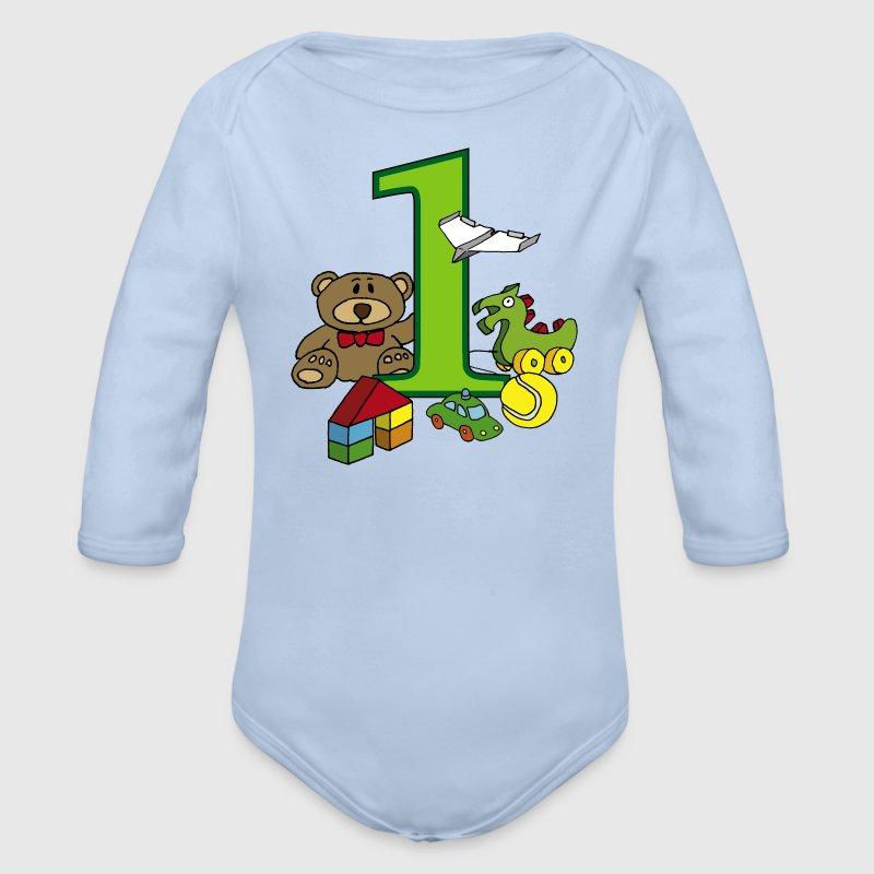 Kindergeburtstag und spielzeug jahr baby body