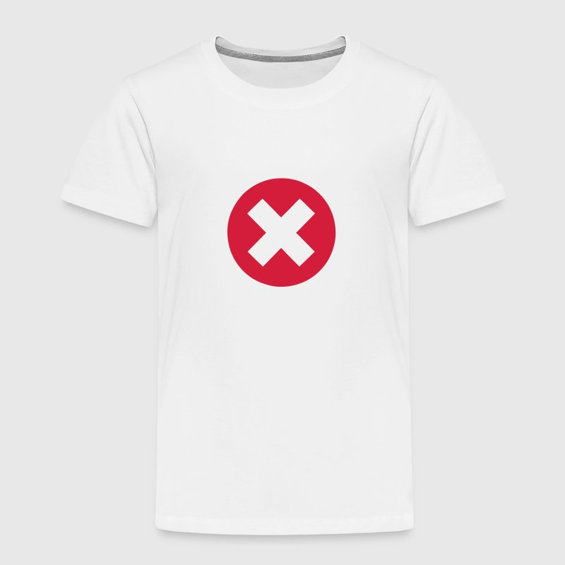 Cross circle icon 3006 Shirts - Kids' Premium T-Shirt