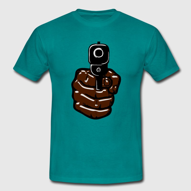 Armes pistolet Tee shirts - T-shirt Homme