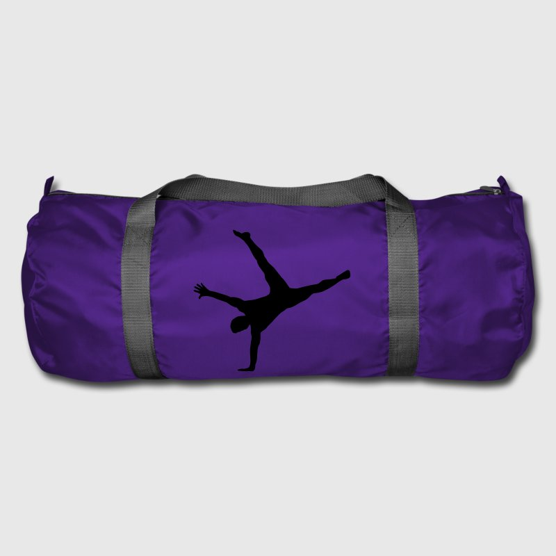 gymnast, gymnastics - breakdance, handstand, flair Bags & Backpacks - Duffel Bag