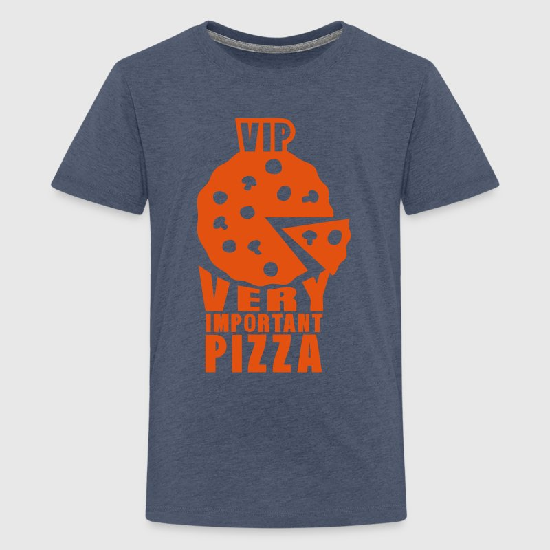 vip very important pizza quote Shirts - Teenage Premium T-Shirt
