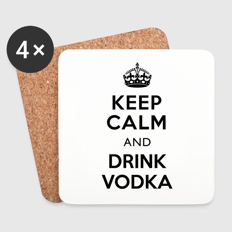 Keep Calm and Drink Vodka Untersetzer - Untersetzer (4er-Set)