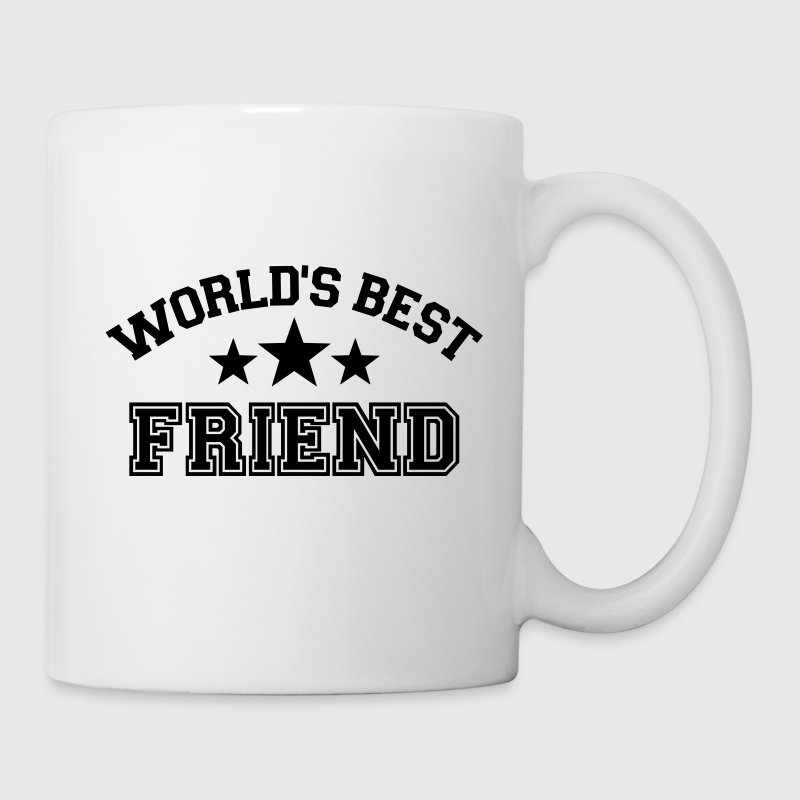World's best friend Tassen & Zubehör - Tasse