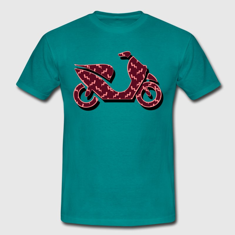 Scooter pattern T-Shirts - Men's T-Shirt