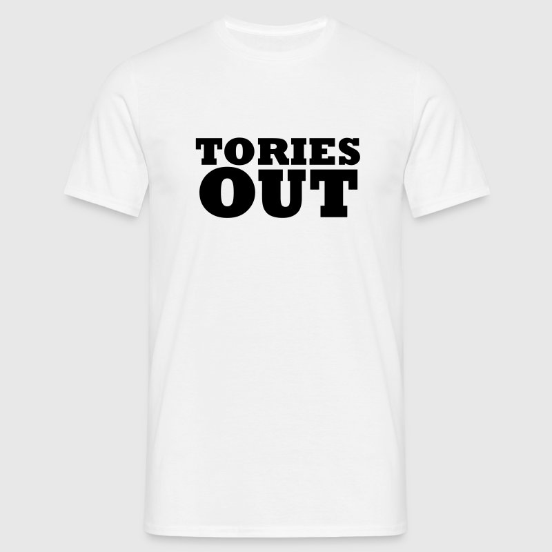 Tories Out - Men's T-Shirt