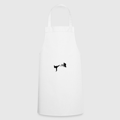 Martial Arts - 2 Fighters Mugs & Drinkware - Cooking Apron