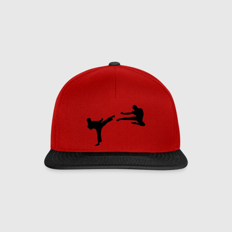 Martial Arts - 2 Fighters Caps & Hats - Snapback Cap