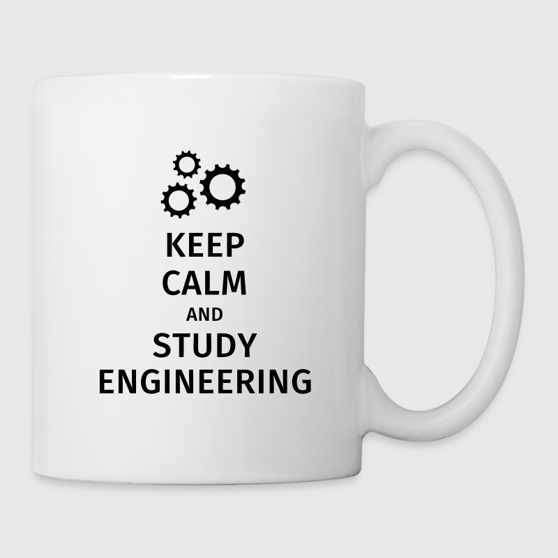 keep calm and study engineering Mugs & Drinkware - Mug