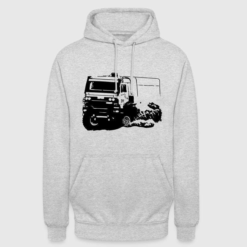Rally Dakar - Truck Race Sweat-shirts - Sweat-shirt à capuche unisexe