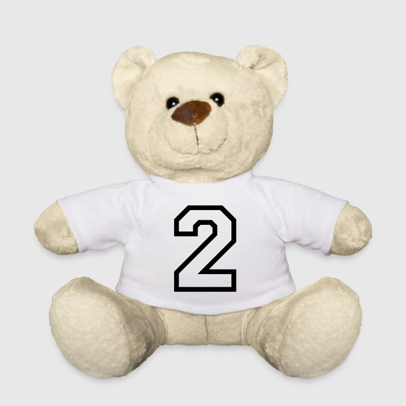 THE NUMBER TWO, 2 Teddy Bear Toys - Teddy Bear
