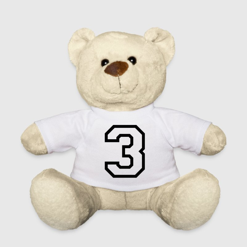 THE NUMBER 3-3 Teddy Bear Toys - Teddy Bear