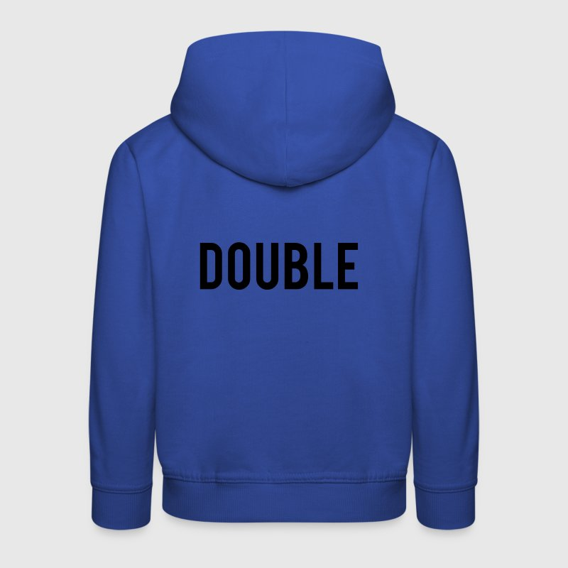 Double Trouble Sweats - Pull à capuche Premium Enfant