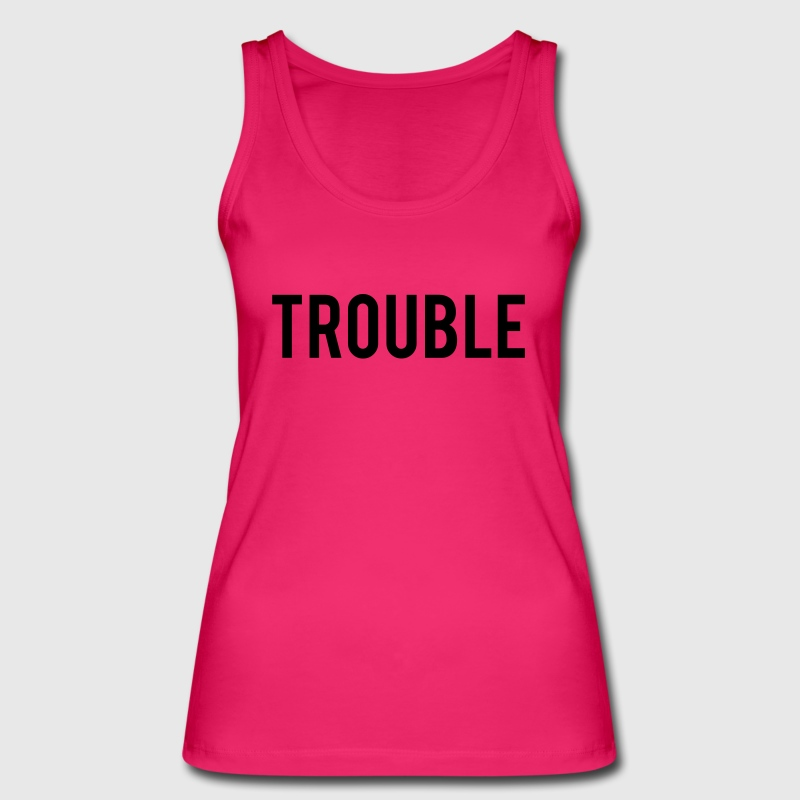 Double Trouble Tops - Women's Organic Tank Top by Stanley & Stella