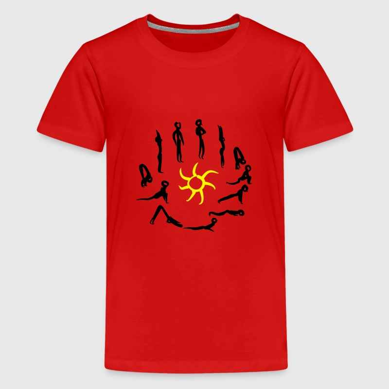 Yoga T-shirts - Teenager premium T-shirt