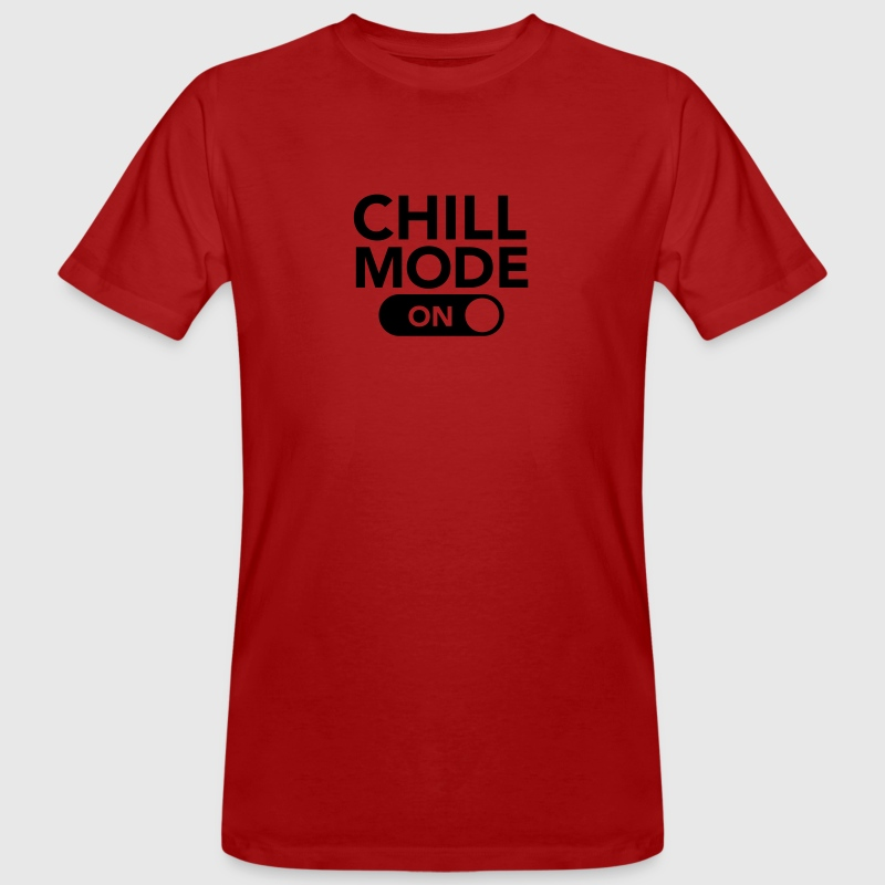 Chill Mode (On) T-shirts - Mannen Bio-T-shirt