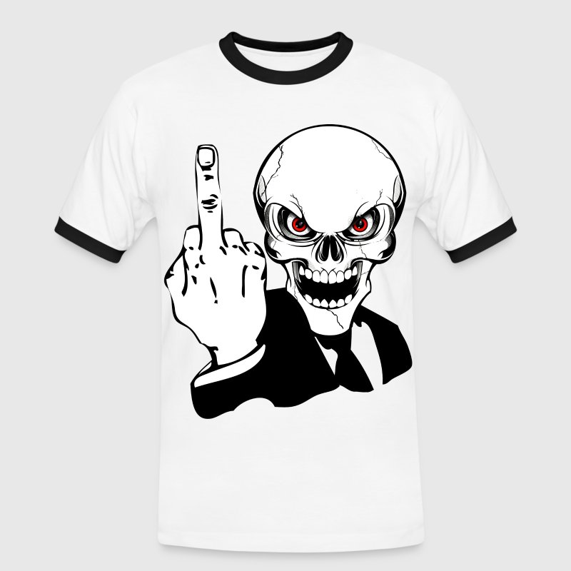 skull fuck Tee shirts - T-shirt contraste Homme