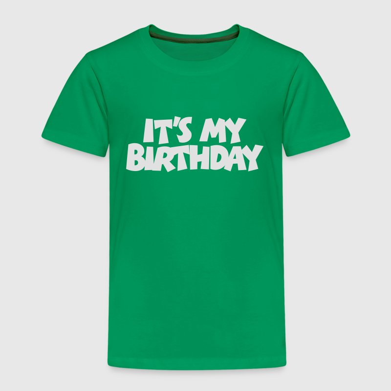 Geburtstags T-Shirt It's my Birthday (Kinder) - Kinder Premium T-Shirt