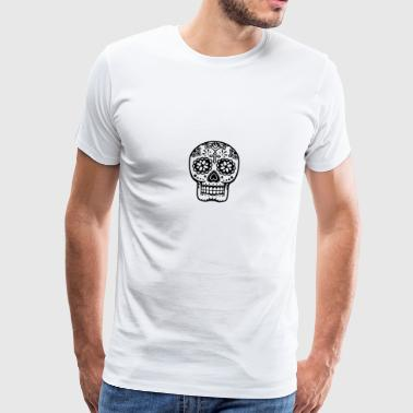 Mexican skull calavera Sports wear - Men's Premium T-Shirt
