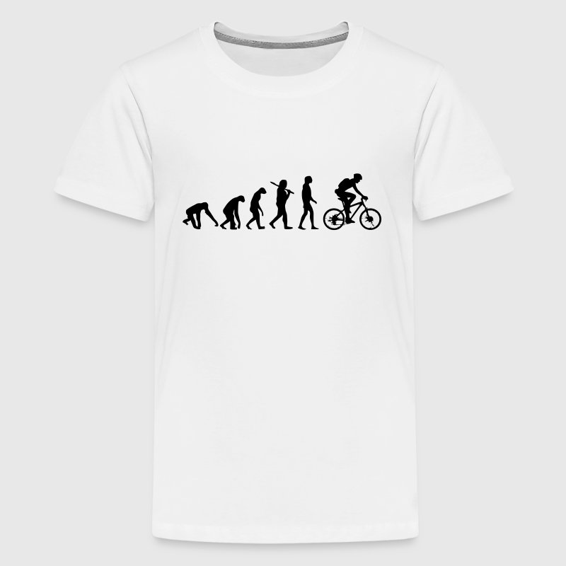 FIETS EVOLUTION Shirts - Teenager Premium T-shirt