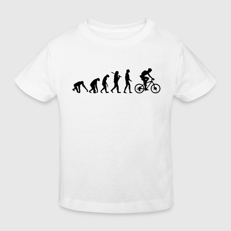 BIKE EVOLUTION Shirts - Kids' Organic T-shirt