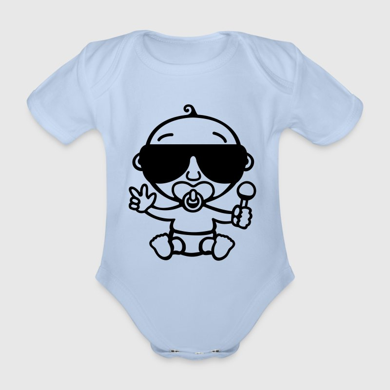 Cool Baby - Organic Short-sleeved Baby Bodysuit