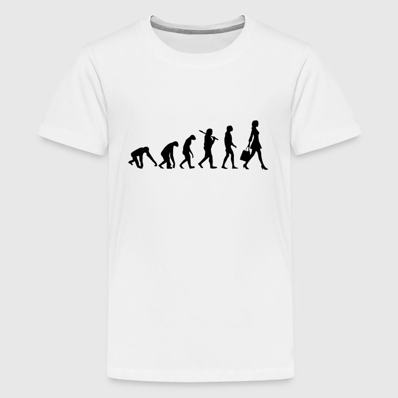 WOMEN EVOLUTION Shirts - Teenage Premium T-Shirt