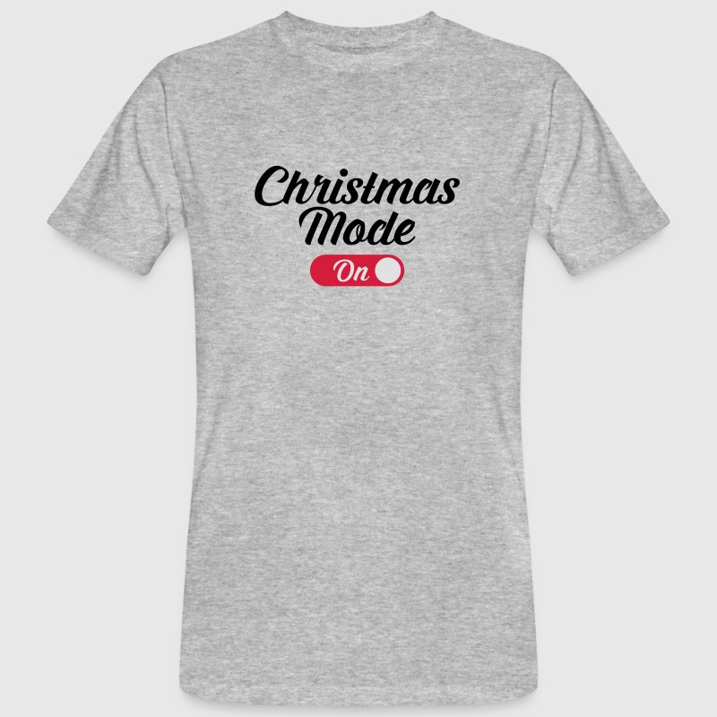 Christmas Mode (On) Camisetas - Camiseta ecológica hombre