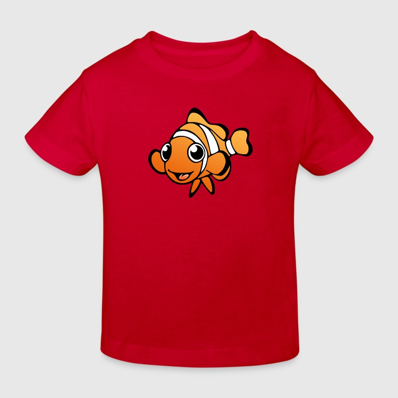 Bio T-Shirt: Clownfisch - Kinder Bio-T-Shirt