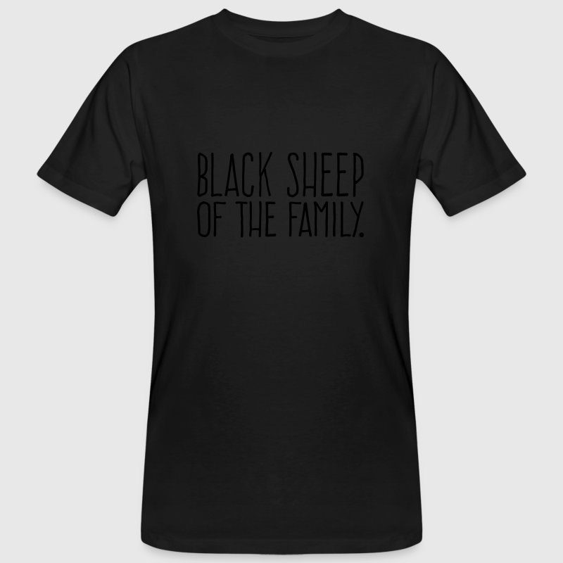 Black Sheep of the Family T-Shirts - Männer Bio-T-Shirt