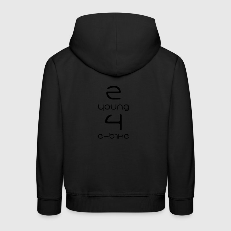 2 young 4 e-bike Pullover & Hoodies - Kinder Premium Hoodie