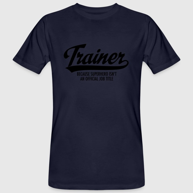 Trainer - Superhero T-Shirts - Men's Organic T-shirt