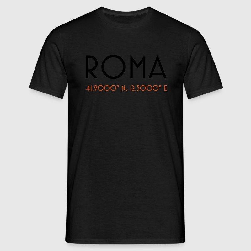 roma coordinates rome Tee shirts - T-shirt Homme