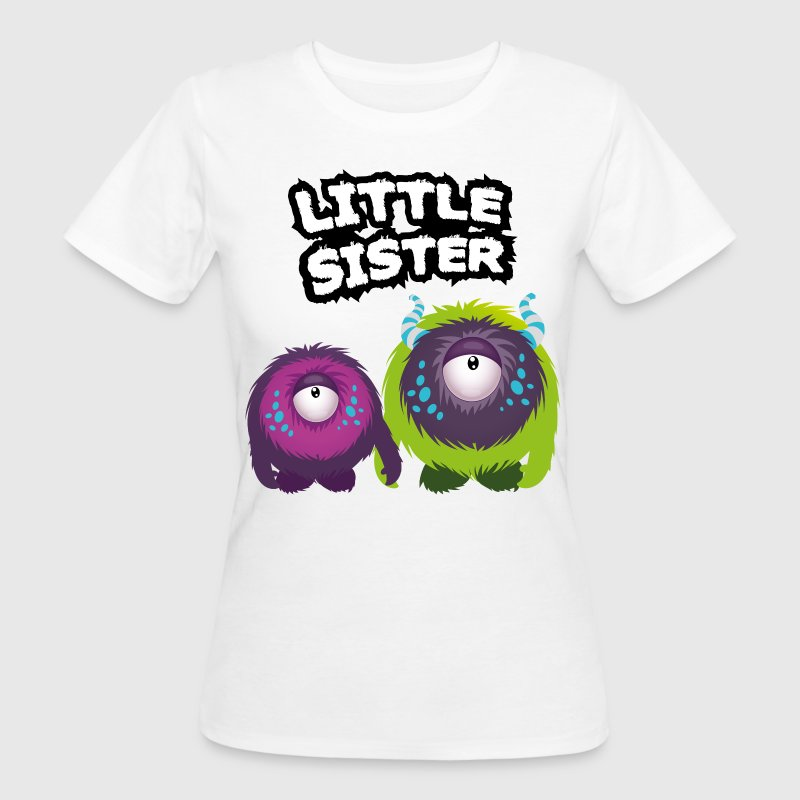 Little Sister Monster T-Shirts - Frauen Bio-T-Shirt
